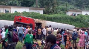 Accident feroviar grav în Camerun: 55 de morți, 600 de răniți