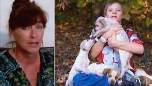 Un copil de 10 ani a dispărut. După 18 ore, mama lui fuge după un câine în pădure, plângând! ŞOC!
