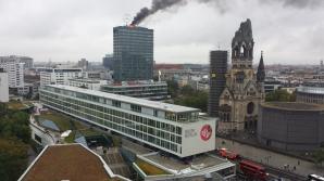 Incendiu puternic într-un mall din Berlin