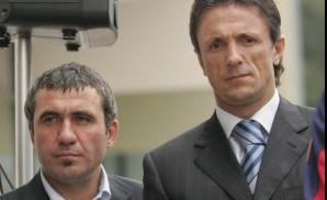 Gheorghe Hagi și Gică Popescu