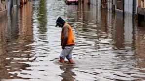 Ploaie a făcut ravagii în Prahova. Case şi gospodări, inundate