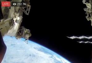 NASA, imagini LIVE dn spaţiu. Pământul, așa cum nu l-aţi mai văzut niciodată