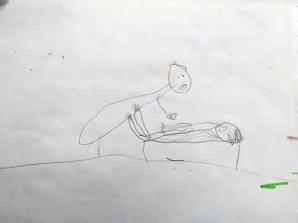 Fetiță de 5 ani, abuzată sexual de un preot. Ea a desenat prin ce-a trecut. Cutremurător!