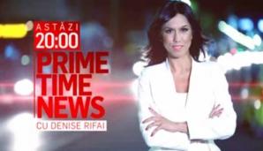 Florin Iordache, al treilea om în stat, în această seară, la PRIME TIME NEWS cu Denise Rifai