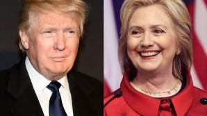 Alegeri SUA. Un nou sondaj: Hillary Clinton - 51%, Donald Trump - 37%