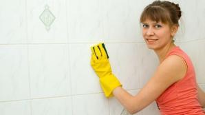 Cum scoţi RAPID grăsimea de pe pereţii din bucătărie