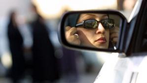 Soferiţe, scandal în trafic