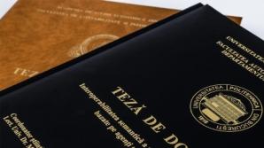 Consiliul Naţional al Rectorilor: Este nevoie ca şcolile doctorale să fie evaluate pe domenii