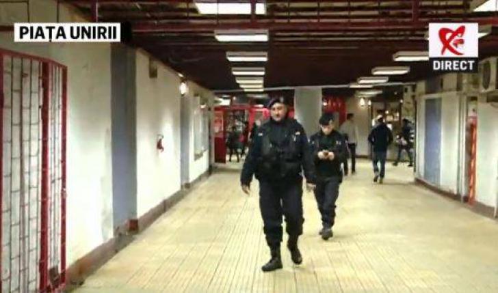 Alertă cu bombă falsă la metroul din Capitală: călătorii, evacuaţi din pricina unui colet suspect