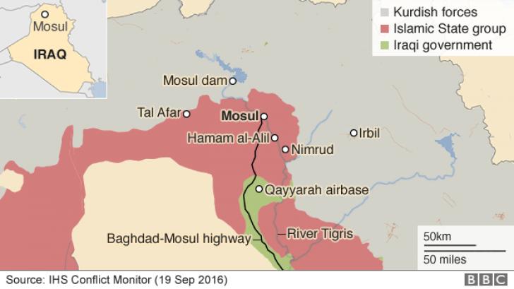 Ofensiva pentru Mosul. Un milion de oameni, prinși în atacul decisiv împotriva ISIS