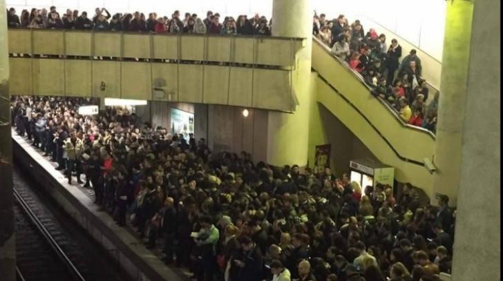 Prima reacţie oficială Metrorex după ce trei femei au leşinat la metrou marţi dimineaţă