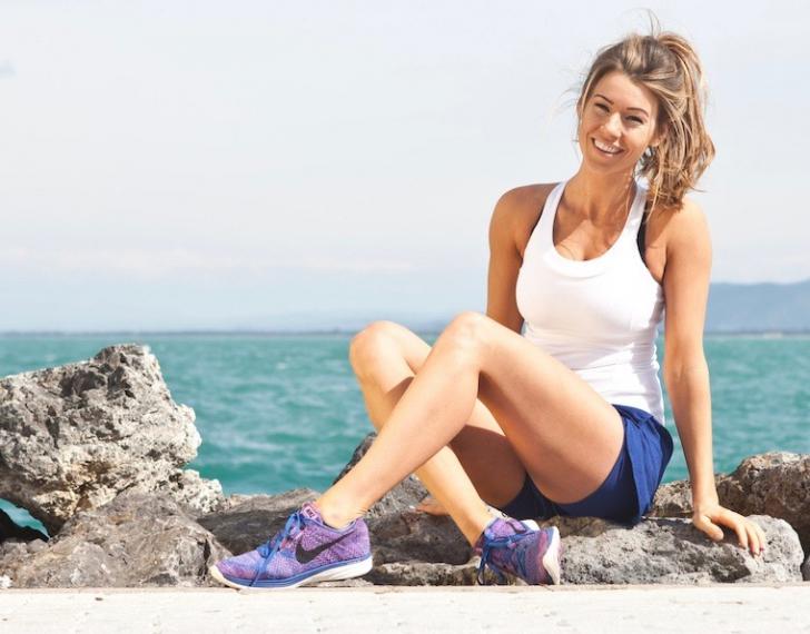 Aşa arată în reclame starul fitness Anna Victoria. ŞOC! Ce selfie a postat. I-a distrus imaginea