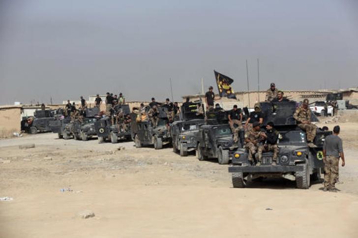 Zeci de mii de luptători în asaltul masiv pentru eliberarea Mosulului. Cum va decurge operațiunea