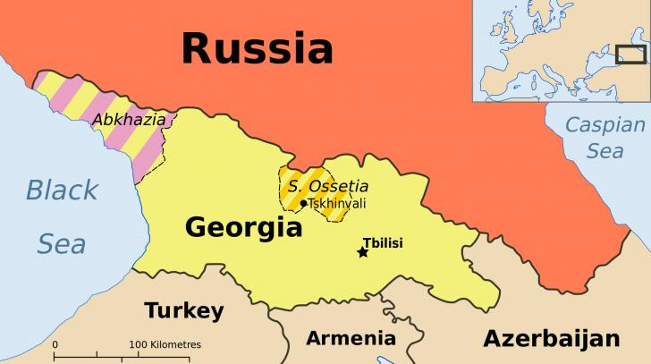 ATENTAT în Georgia. Un individ s-a aruncat în aer în incinta televiziunii publice din Abhazia