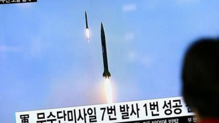 <p>Coreea de Nord a lansat mai multe rachete</p>