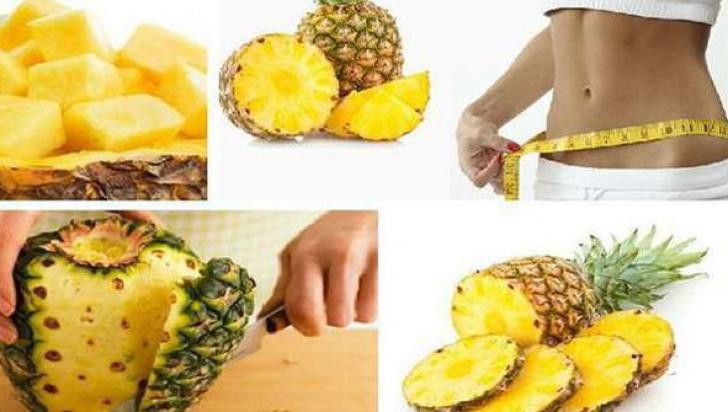 Încearcă dieta cu ananas! Slăbeşti cinci kilograme în trei zile!