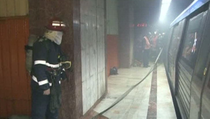 Incendiu la metrou, la staţia Politehnica!