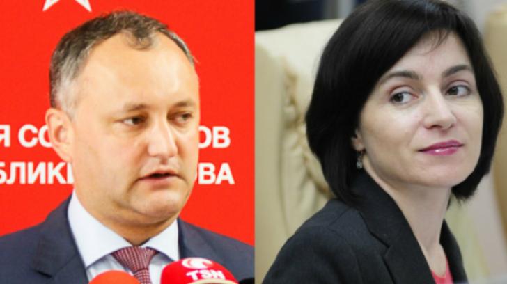 Harta alegerilor din R. Moldova. Unde au câștigat Igor Dodon și Maia Sandu