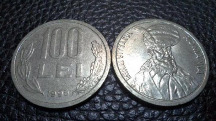 Mai ai pe acasă monede de 100 de lei cu Mihai Vitează? Te poţi îmbogăţi. Iată cât valorează acum!