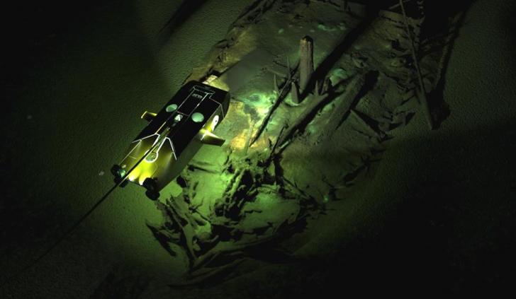 Imagini de pe fundul Mării Negre
