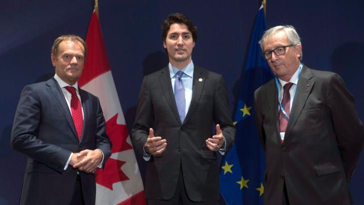 UE și Canada au semnat acordul de liber schimb, după săptămâni de incertitudine