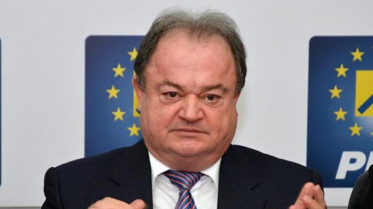 Vasile Blaga, trimis în judecată de DNA! Procurorii îl acuză de trafic de influență