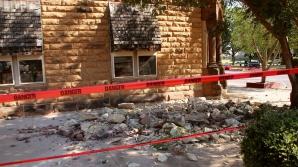Zeci de clădiri au suferit daune în urma cutremurului produs în statul american Oklahoma
