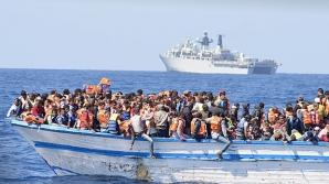 <p>13 barci pneumatice în Mediterana</p>