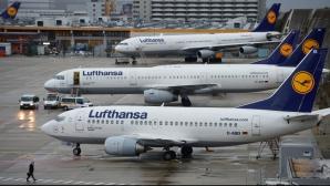 Piloții de la Lufthansa vor suspenda duminică greva
