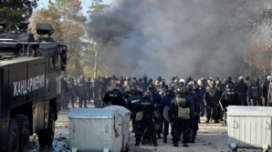 Tabără de refugiați în Bulgaria