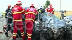 Accident pe E85