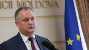 Prorusul Igor Dodon este noul președinte al Republicii Moldova