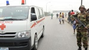 EXPLOZIE DEVASTATOARE, după ce un camion care transporta combustibil a luat foc: 73 de morţi
