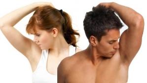 Mirosul urât de transpiraţie indică existenţa unei boli foarte grave!