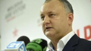 ALEGERI MOLDOVA. Igor Dodon: Înțeleg că nu va fi simplu. Promit că voi fi președintele tuturor / Foto: agerpres.ro