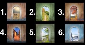 Alege o ușă și noi îți vom spune cât de frumoasă va fi viaţa ta