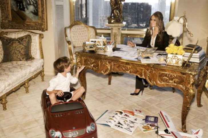 Cum arată apartamentul noului preşedinte al Americii