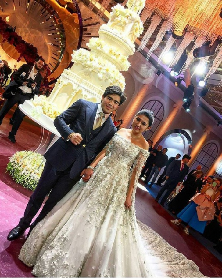 Fiica unui magnat din Rusia a avut parte de o nuntă ruptă din povești
