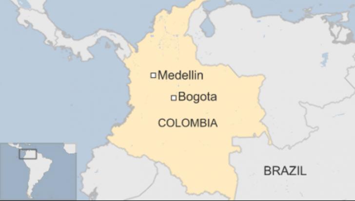 Tragedie aviatică în Columbia. 76 de persoane şi-au pierdut viața