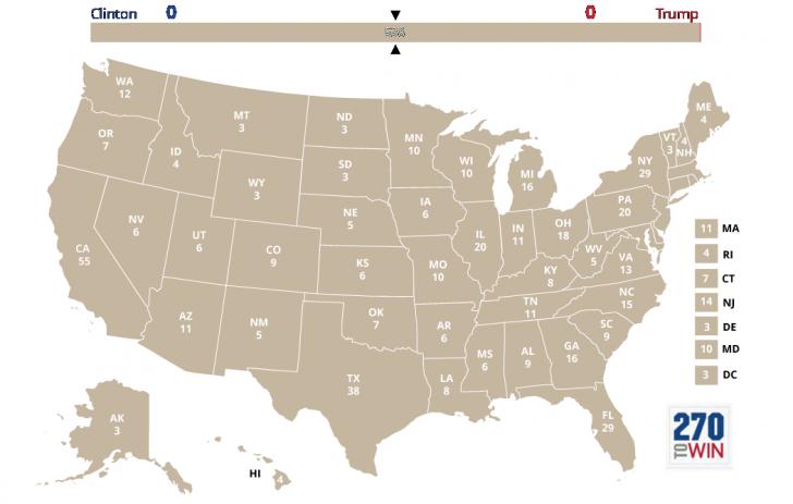 Luptă până la capăt. Statele cheie care vor stabili următorul președinte al SUA