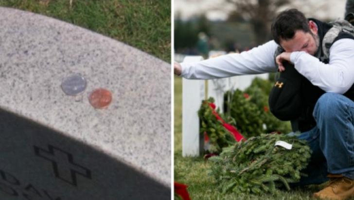 A văzut bănuții pe cruce, în cimitir. Credea că i-a uitat cineva. Când a aflat ce înseamnă, a plâns