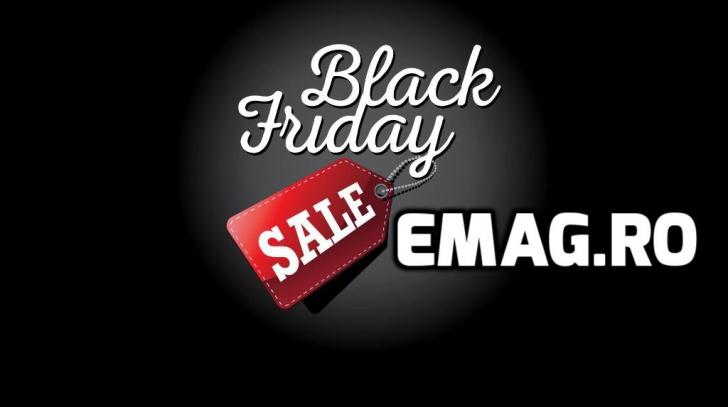 Black Friday 2016 eMAG.ro - Preturile o iau complet razna. Care sunt secretele din acest an