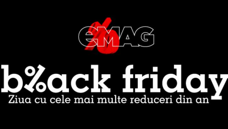 Black Friday 2016. Data și ora la care eMAG începe reducerile uriașe
