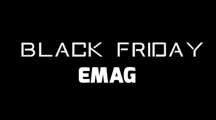 Black Friday eMAG - Catalogul ofertelor pe care toata lumea vrea sa le vaneze. Pregatiti lista