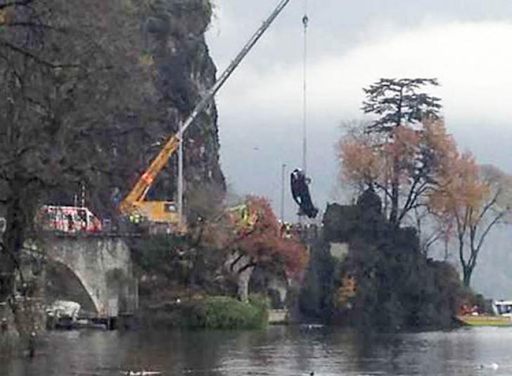 """""""Lady Di"""" a Rusiei a murit pe fundul lacului Lugano într-un cumplit accident"""
