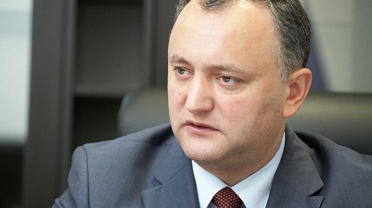 Igor Dodon: Îi amintesc domnului Iohannis că i-am transmis o scrisoare, la care nu a răspuns