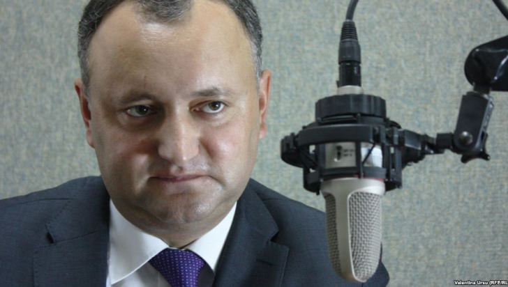 Președintele prorus Dodon amenință, din nou, Bucureștiul