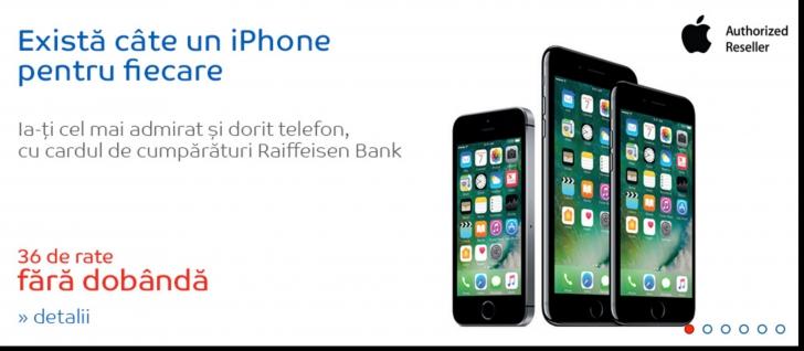 eMAG - Toate modelele de iPhone pot fi achizitionate in 36 de rate fara dobanda. Ce preturi au