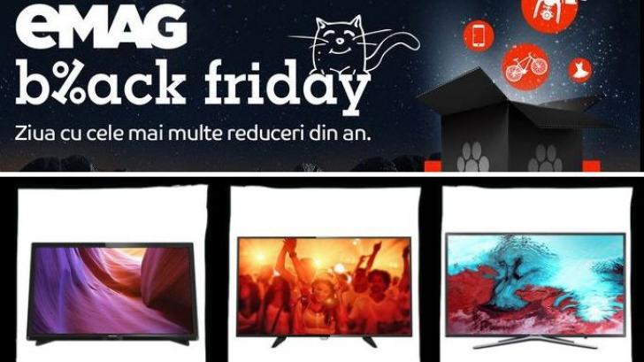 Black Friday 2016 eMAG. 12 televizoare cu preț special de Black Friday | Ghid