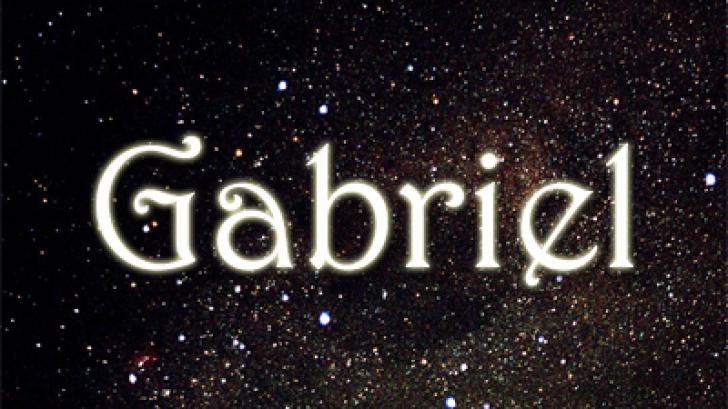 SF. MIHAIL ŞI GAVRIIL. Care este semnificaţia numelui GABRIEL şi cum sunt persoanele care-l poartă